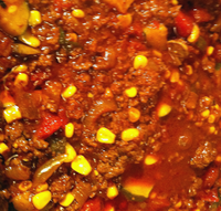 Vegetarian Chili with Beef
